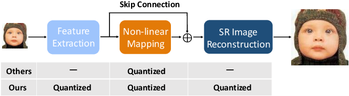 Figure 3 for Fully Quantized Image Super-Resolution Networks