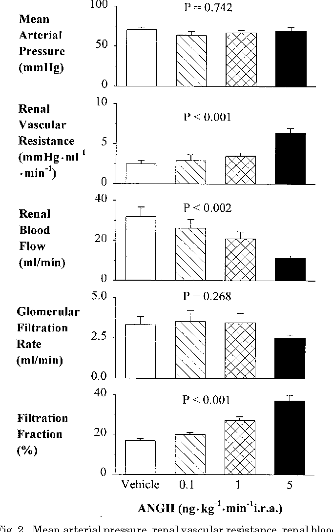 Effects of angiotensin II on regional afferent and efferent ...