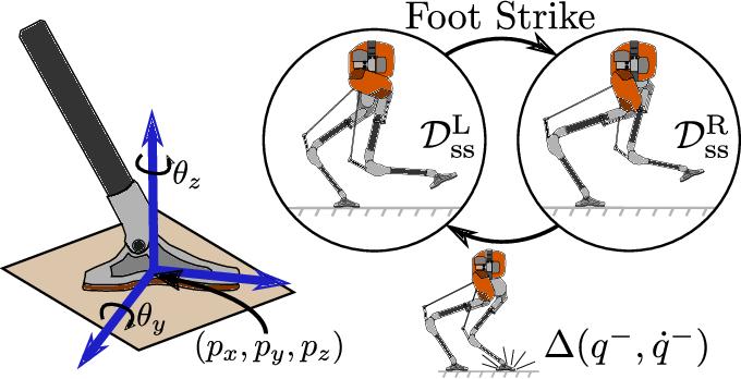 Figure 3 for Inverse Dynamics Control of Compliant Hybrid Zero Dynamic Walking