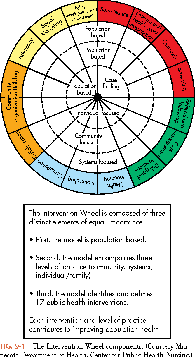 Figure 9 1 From Population Based Public Health Nursing Practice