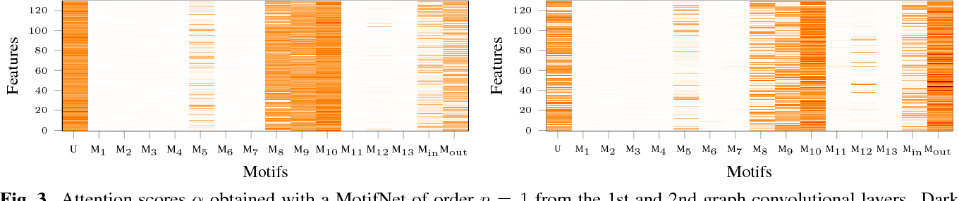 Figure 4 for MotifNet: a motif-based Graph Convolutional Network for directed graphs