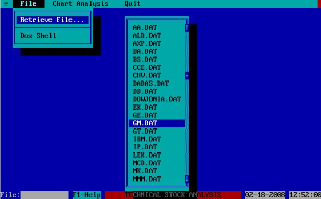PDF] TSA – A Computer Program for Technical Analysis of