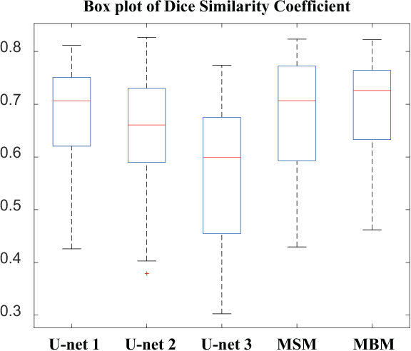 Figure 4 for A post-processing method to improve the white matter hyperintensity segmentation accuracy for randomly-initialized U-net