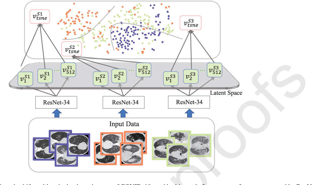 Figure 1 for Domain adaptation based self-correction model for COVID-19 infection segmentation in CT images