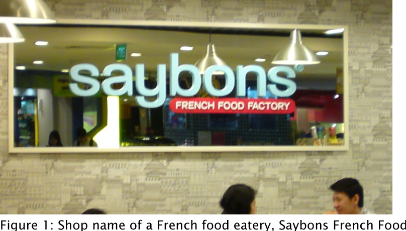 PDF] Frenglish shop signs in Singapore: Creative and novel