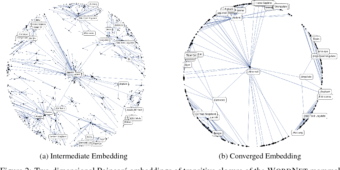Figure 3 for Poincaré Embeddings for Learning Hierarchical Representations