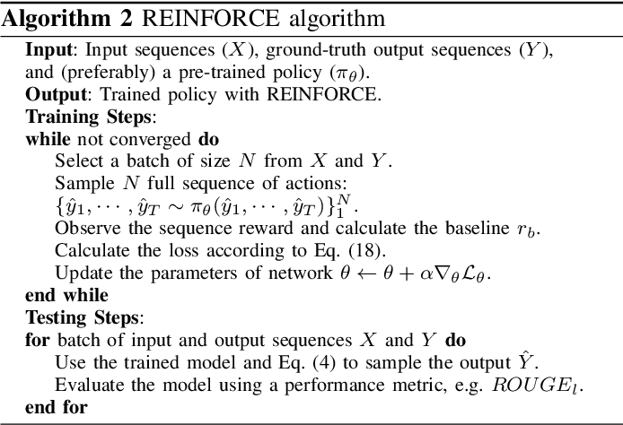Figure 2 for Deep Reinforcement Learning For Sequence to Sequence Models