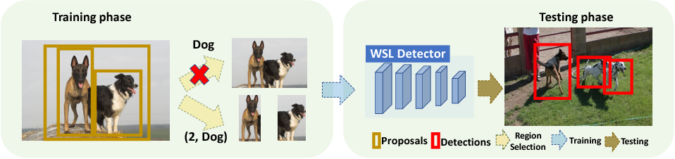 Figure 1 for C-WSL: Count-guided Weakly Supervised Localization