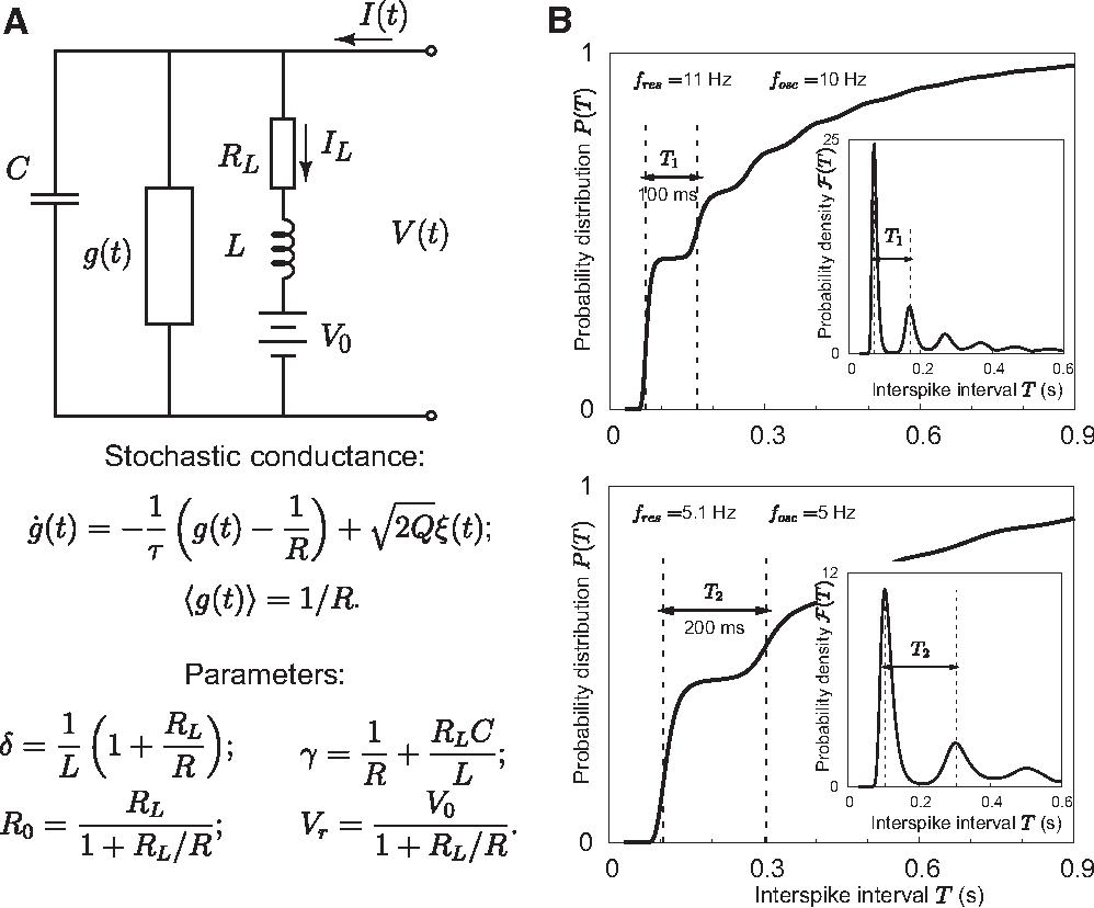 PDF] Subthreshold membrane-potential resonances shape spike-train