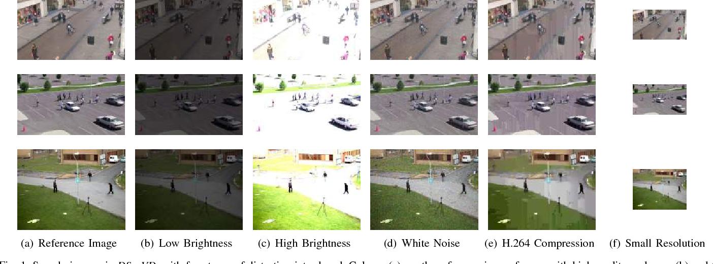 Figure 1 for Robustness Analysis of Pedestrian Detectors for Surveillance