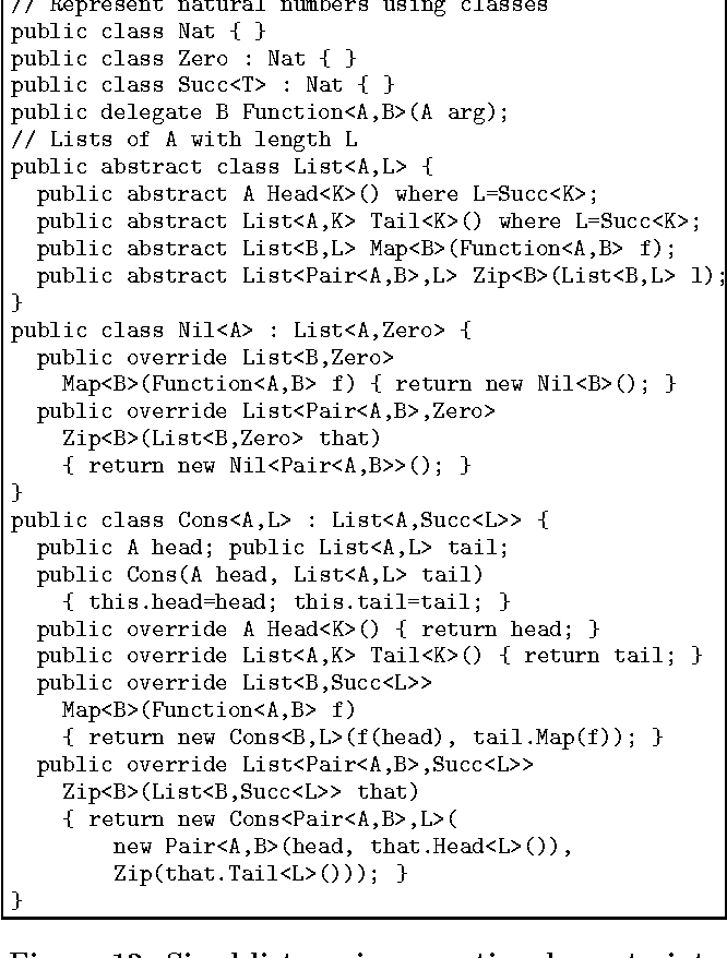 Figure 11 from Generalized algebraic data types and object