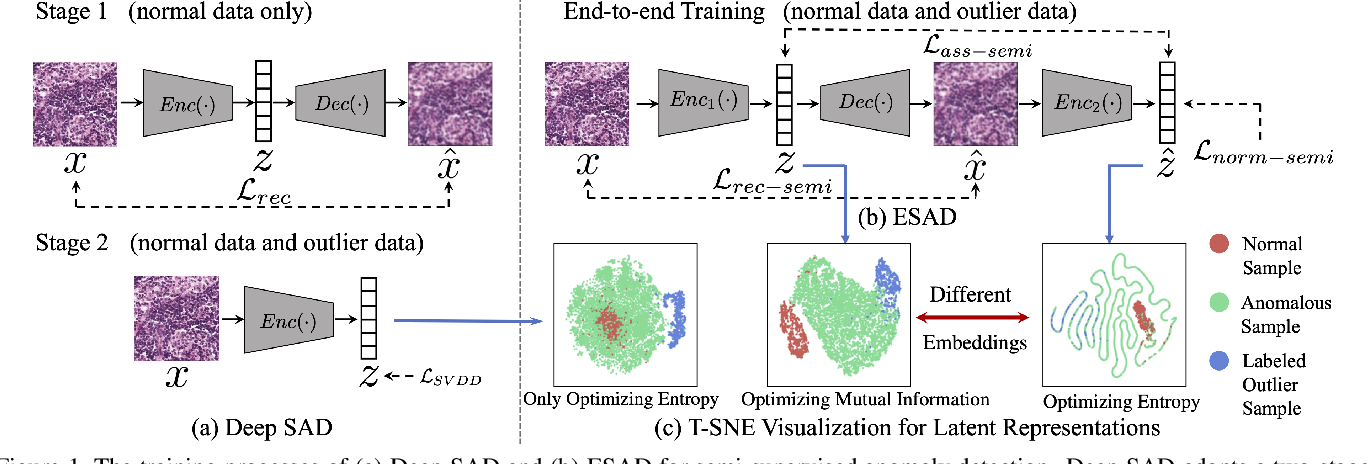 Figure 1 for ESAD: End-to-end Deep Semi-supervised Anomaly Detection