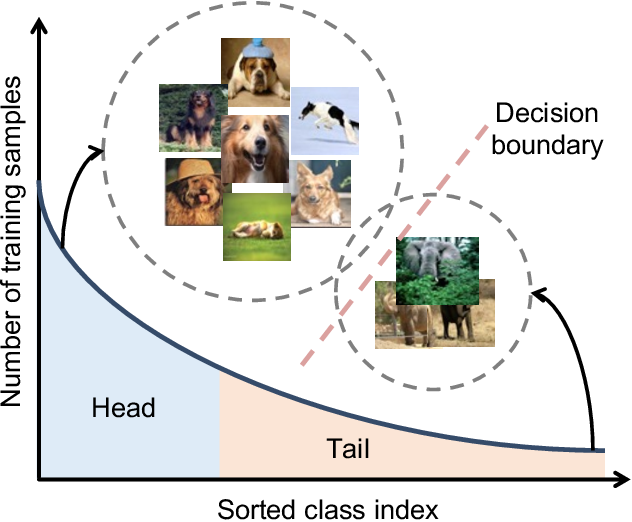 Figure 1 for Deep Long-Tailed Learning: A Survey