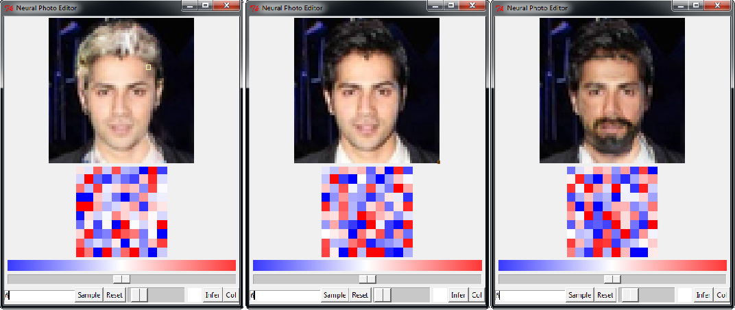 Figure 1 for Neural Photo Editing with Introspective Adversarial Networks