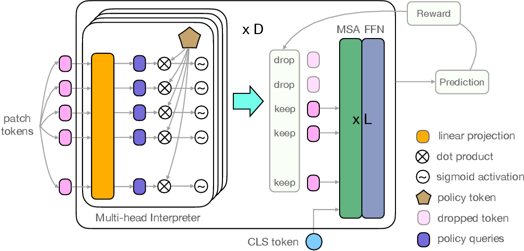 Figure 2 for IA-RED$^2$: Interpretability-Aware Redundancy Reduction for Vision Transformers