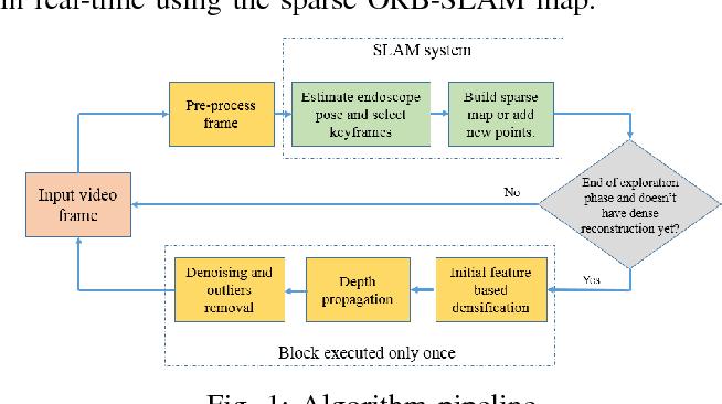 Figure 1 for SLAM based Quasi Dense Reconstruction For Minimally Invasive Surgery Scenes
