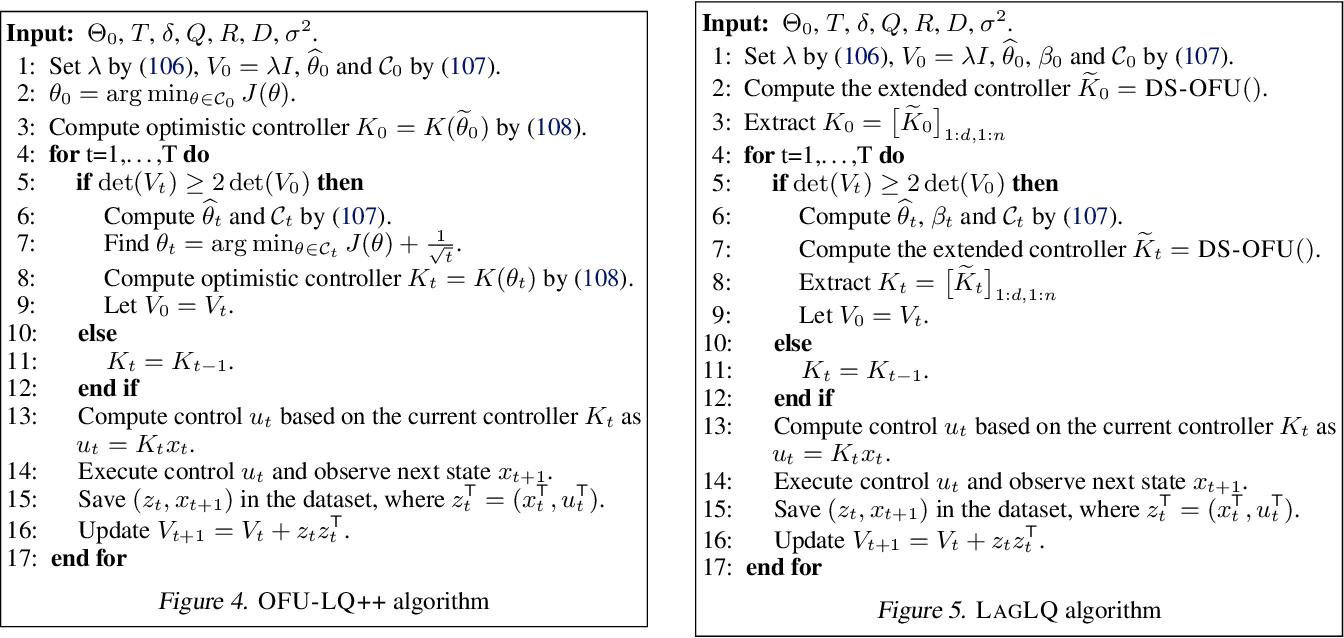 Figure 4 for Efficient Optimistic Exploration in Linear-Quadratic Regulators via Lagrangian Relaxation