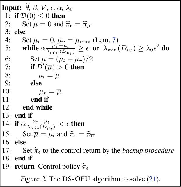 Figure 2 for Efficient Optimistic Exploration in Linear-Quadratic Regulators via Lagrangian Relaxation