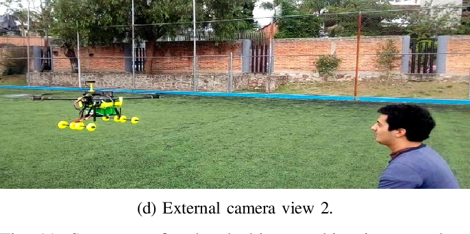 Figure 3 for Object recognition and tracking using Haar-like Features Cascade Classifiers: Application to a quad-rotor UAV