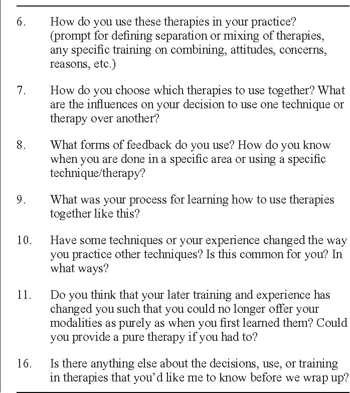 PDF] Exploring the Nature of Therapeutic Massage Bodywork