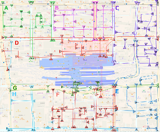Figure 4 for Building Movie Map -- A Tool for Exploring Areas in a City -- and its Evaluation