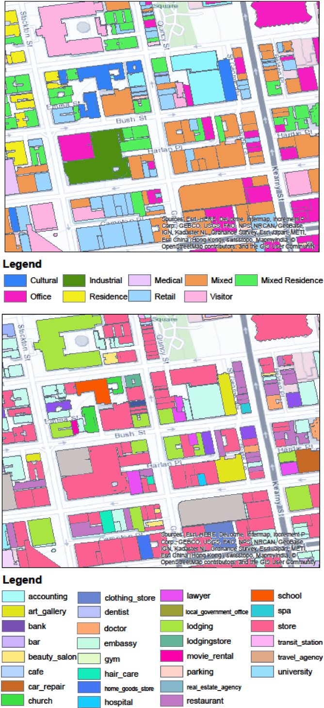 Figure 1 for Fine-Grained Land Use Classification at the City Scale Using Ground-Level Images