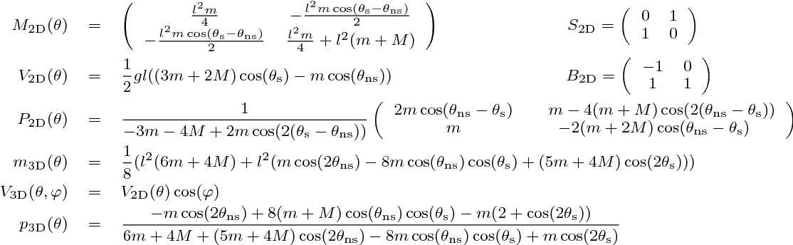 TABLE I ADDITIONAL EQUATIONS FOR H C 2D AND H C 3D