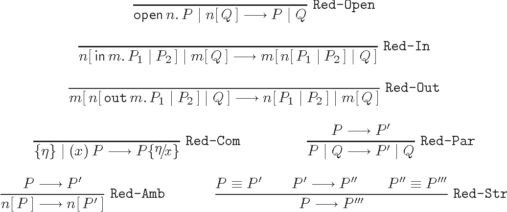 Table 1 from Separability in the Ambient Logic - Semantic