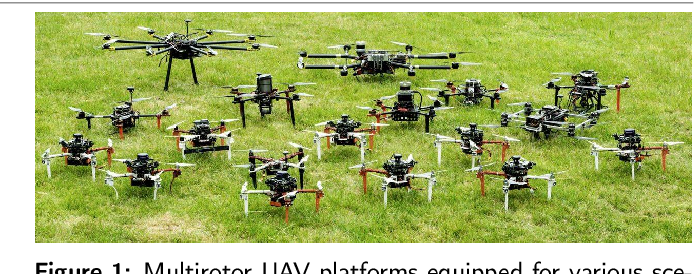 Figure 1 for The MRS UAV System: Pushing the Frontiers of Reproducible Research, Real-world Deployment, and Education with Autonomous Unmanned Aerial Vehicles
