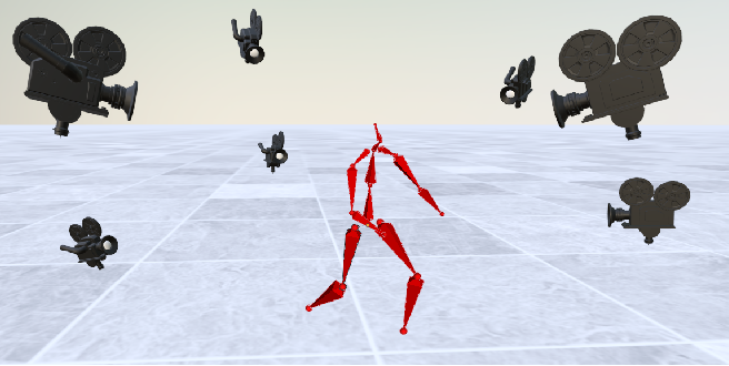 Figure 1 for FLEX: Parameter-free Multi-view 3D Human Motion Reconstruction
