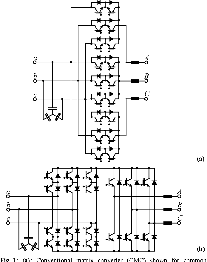 Figure 4 From Novel Three Phase Ac Dc Ac Sparse Matrix Converter