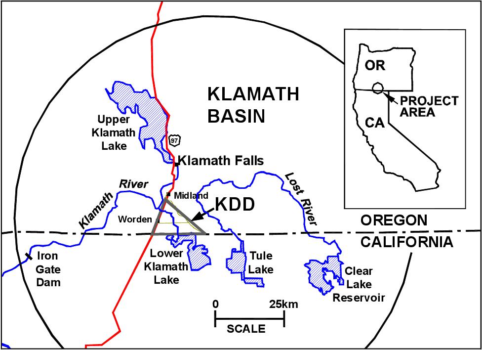 Klamath Falls Oregon datant