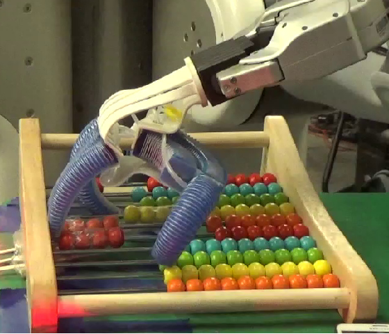 Figure 1 for Learning Dexterous Manipulation for a Soft Robotic Hand from Human Demonstration
