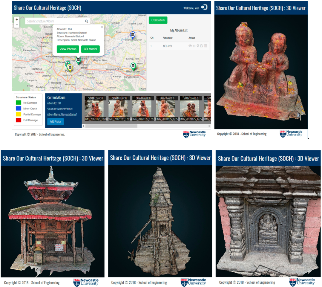 Figure 7 from Share Our Cultural Heritage (SOCH): Worldwide 3D