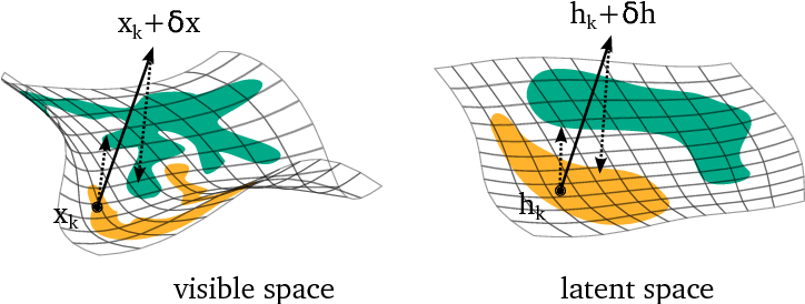 Figure 3 for Fortified Networks: Improving the Robustness of Deep Networks by Modeling the Manifold of Hidden Representations