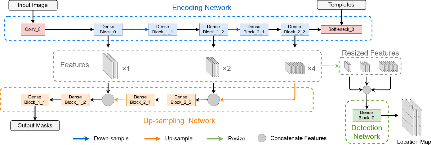 Figure 4 for T-Net: A Template-Supervised Network for Task-specific Feature Extraction in Biomedical Image Analysis