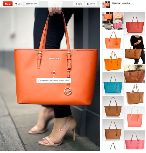 Figure 1 for Visual Search at Pinterest