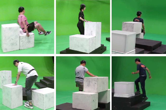 Figure 1 for Geometric Pose Affordance: 3D Human Pose with Scene Constraints