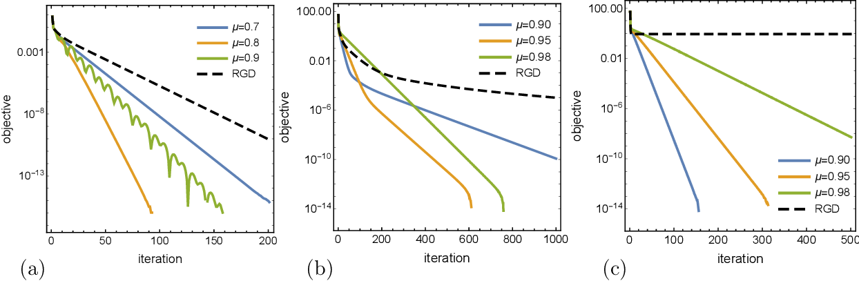 Figure 3 for Optimization on manifolds: A symplectic approach