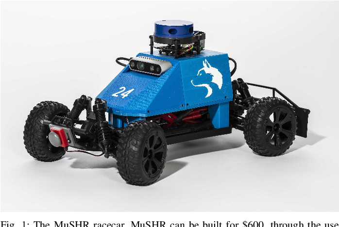 Figure 1 for MuSHR: A Low-Cost, Open-Source Robotic Racecar for Education and Research