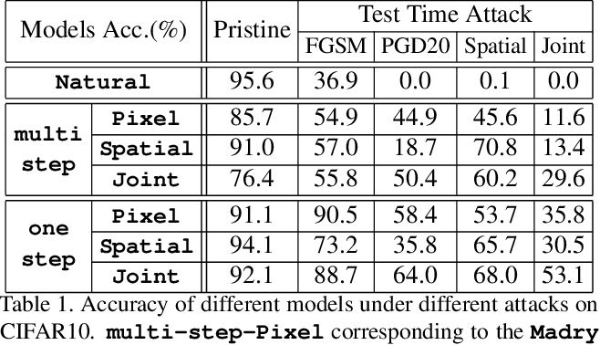 Figure 2 for Joint Adversarial Training: Incorporating both Spatial and Pixel Attacks