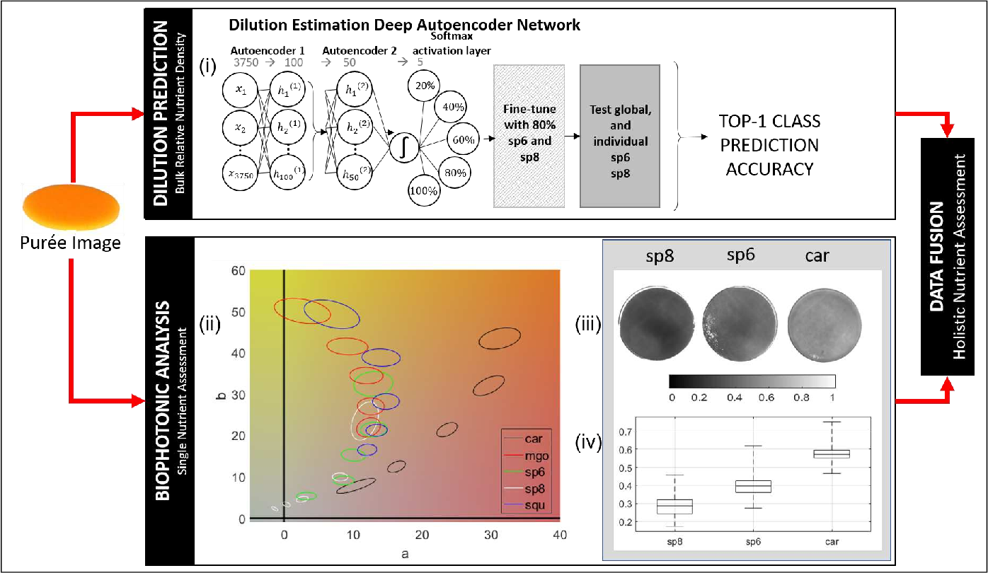 Figure 2 for Towards computer vision powered color-nutrient assessment of pureed food