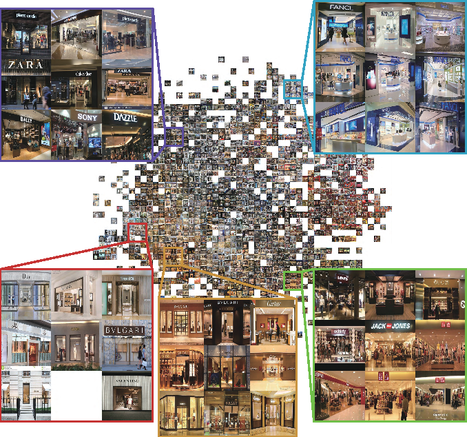 Figure 3 for Utilizing High-level Visual Feature for Indoor Shopping Mall Navigation