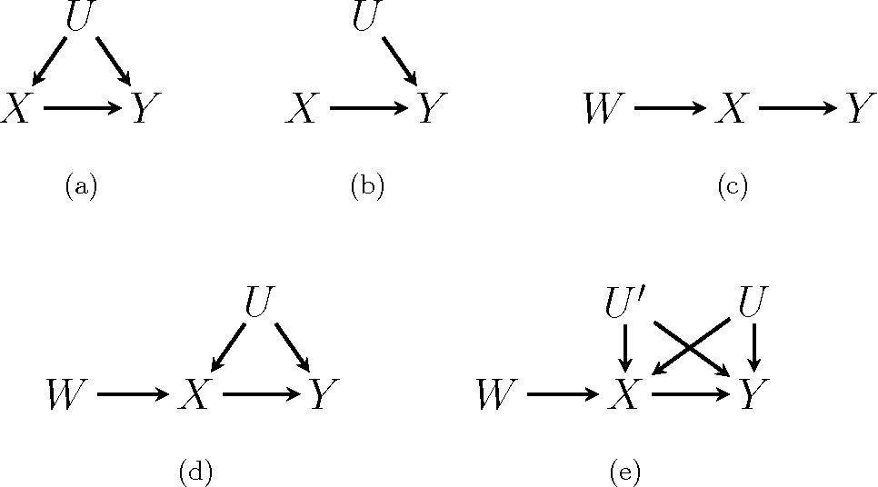 Figure 1 for Causal Inference through a Witness Protection Program