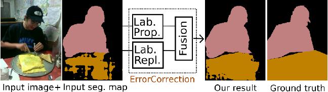 Figure 1 for Error Correction for Dense Semantic Image Labeling