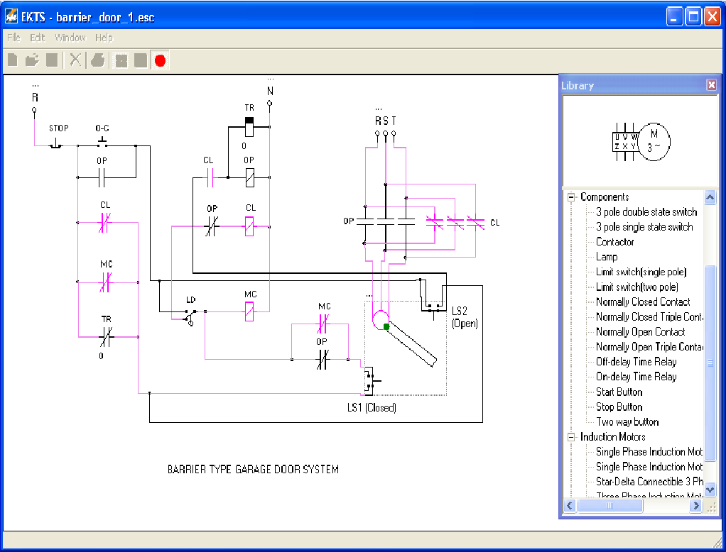 Figure 5 From Electro Mechanical Control Systems Simulator Ecss 3 Way Switch Contactor With Multi Language Support Semantic Scholar