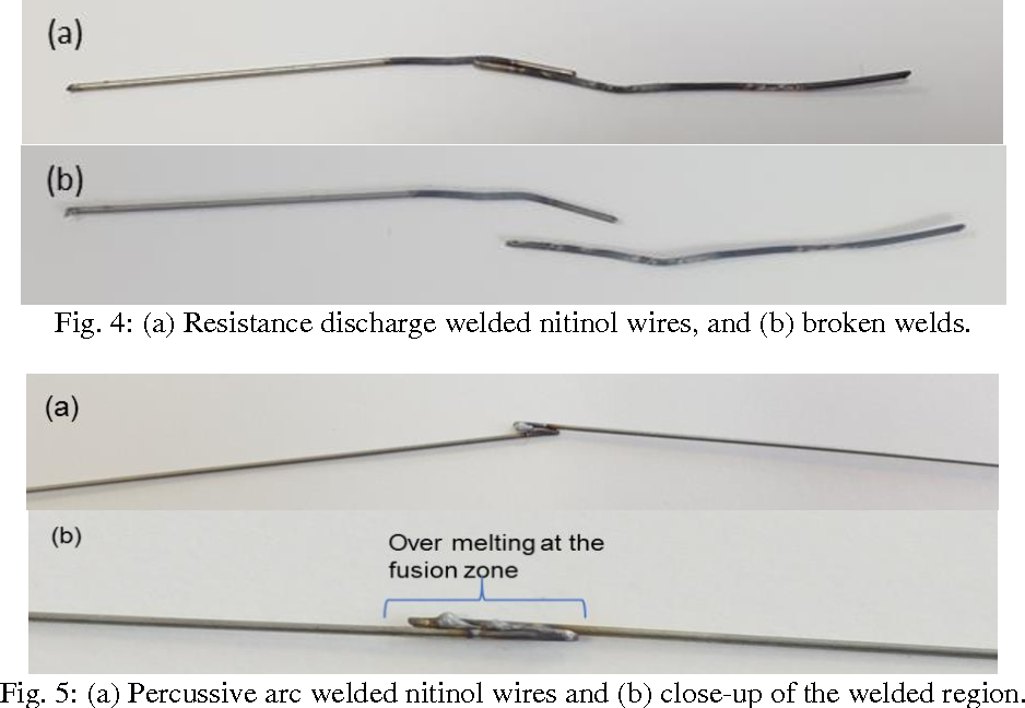 Figure 4 from Laser Micro Welding of Nitinol for ...