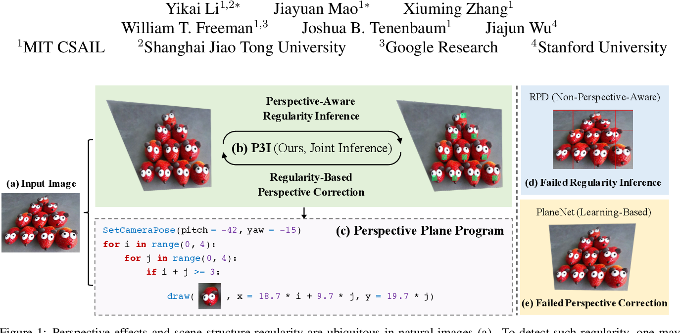 Figure 1 for Perspective Plane Program Induction from a Single Image
