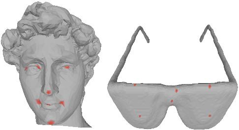 Figure 1 for 3D Interest Point Detection via Discriminative Learning