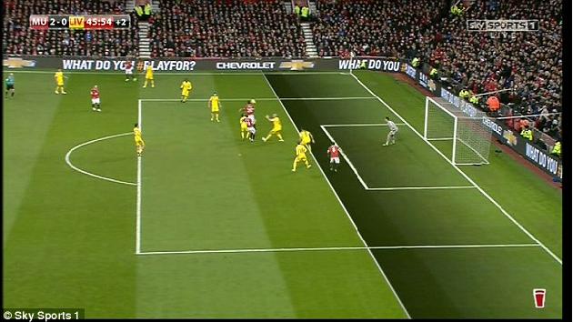 Figure 1 for Vision Based Dynamic Offside Line Marker for Soccer Games